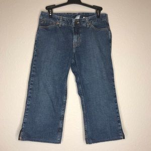 Lucky Brand Jeans Dungarees wild child crop 4